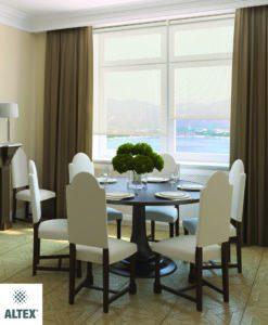 Interior of  dining-room. 3d  render.